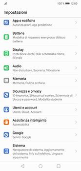 Huawei P20 Lite - Software - Installazione degli aggiornamenti software - Fase 3