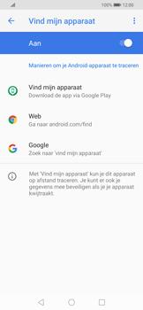 Huawei P Smart Z - Toestel - stel Zoek mijn mobiel in - Stap 6