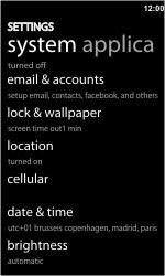 HTC 7 Trophy - MMS - probleem met ontvangen - Stap 6