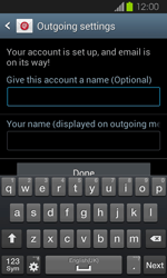 Samsung I8730 Galaxy Express - E-mail - Manual configuration - Step 17
