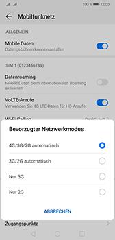 Huawei Mate 20 - Netzwerk - Netzwerkeinstellungen ändern - Schritt 6
