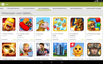 Sony Xperia Tablet Z2 4G (SGP521) - Applicaties - Downloaden - Stap 9