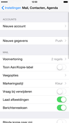 Apple iPhone 6 iOS 8 - E-mail - Account instellen (POP3 zonder SMTP-verificatie) - Stap 4
