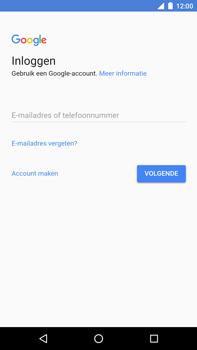 Huawei Nexus 6P - Android Oreo - Applicaties - Account instellen - Stap 4
