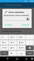 Sony Xperia Z3+ - Anrufe - Rufumleitungen setzen und löschen - 7 / 9