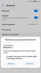 Huawei P10 - Bluetooth - Collegamento dei dispositivi - Fase 6