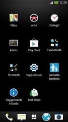 HTC One Mini - Internet e roaming dati - Come verificare se la connessione dati è abilitata - Fase 3