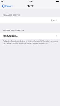 Apple iPhone 6 Plus - iOS 12 - E-Mail - Konto einrichten - Schritt 20
