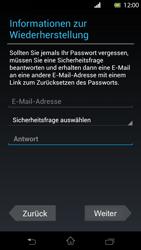 Sony Xperia T - Apps - Einrichten des App Stores - Schritt 10