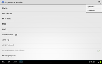 Samsung P5100 Galaxy Tab 2 10-1 - MMS - Manuelle Konfiguration - Schritt 14