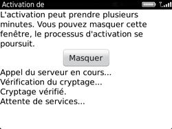 BlackBerry 9720 - E-mails - Ajouter ou modifier un compte e-mail - Étape 10