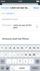 Apple iPhone 5c (iOS 9) - e-mail - hoe te versturen - stap 7