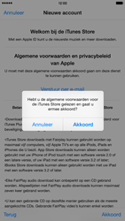 Apple iPhone 6 Plus (iOS 8) - apps - account instellen - stap 12