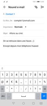 Huawei Y6P - E-mails - Envoyer un e-mail - Étape 9