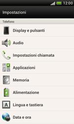HTC Desire X - Dispositivo - Ripristino delle impostazioni originali - Fase 6