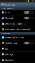 Samsung Galaxy Note 2 - Internet et connexion - Utiliser le mode modem par USB - Étape 4