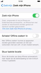 Apple iphone-se-met-ios-13-model-a1723 - Beveiliging en ouderlijk toezicht - Zoek mijn iPhone inschakelen - Stap 12