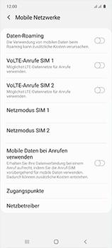 Samsung Galaxy A51 - Internet und Datenroaming - Deaktivieren von Datenroaming - Schritt 7