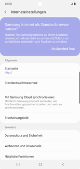 Samsung Galaxy Note 10 Plus 5G - Internet und Datenroaming - Manuelle Konfiguration - Schritt 25