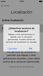 Apple iPhone 5s - Primeros pasos - Activar el equipo - Paso 8