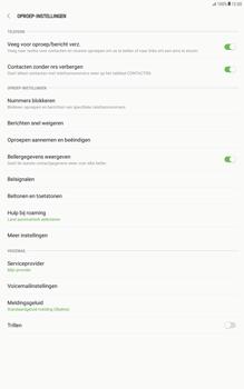 Samsung Galaxy Tab A 10.1 - Android Nougat - Voicemail - Handmatig instellen - Stap 6