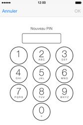 Apple iPhone 4 - Sécuriser votre mobile - Personnaliser le code PIN de votre carte SIM - Étape 8