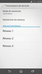 Sony Xperia Z3 Compact - Réseau - Sélection manuelle du réseau - Étape 8