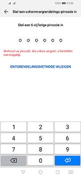 Huawei Y6 (2019) - Beveiliging - stel in of wijzig pincode voor je toestel - Stap 6