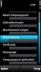 Nokia X6-00 - Internet - handmatig instellen - Stap 15