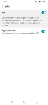 LG g7-fit-dual-sim-lm-q850emw-android-pie - NFC - NFC activeren - Stap 7