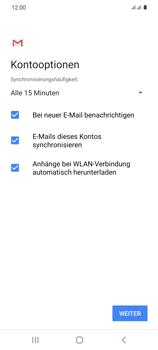 Samsung Galaxy S20 5G - E-Mail - 032b. Email wizard - Yahoo - Schritt 12