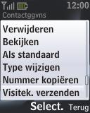 Nokia 2330 classic - contacten, foto