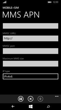 Microsoft Lumia 640 XL - MMS - Manual configuration - Step 12
