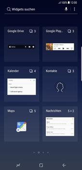 Samsung Galaxy Note 8 - Startanleitung - Installieren von Widgets und Apps auf der Startseite - Schritt 4