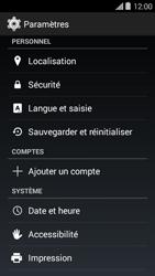 Bouygues Telecom Ultym 5 II - Aller plus loin - Restaurer les paramètres d'usines - Étape 4
