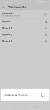 Huawei P30 Pro - Netwerk - Handmatig een netwerk selecteren - Stap 10