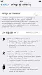 Apple iPhone 6s - iOS 11 - Internet et connexion - Partager votre connexion en Wi-Fi - Étape 5