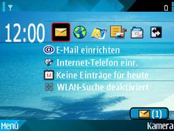 Nokia E71 - Internet - Automatische Konfiguration - Schritt 5