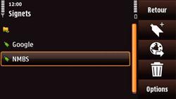 Nokia N97 Mini - Internet - Navigation sur Internet - Étape 11