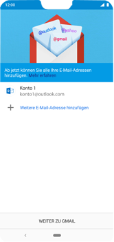 Nokia 6.1 Plus - E-Mail - Konto einrichten (outlook) - 12 / 17