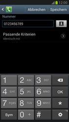 Samsung N7100 Galaxy Note 2 - Anrufe - Anrufe blockieren - Schritt 11