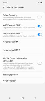 Samsung Galaxy Note 20 5G - Internet und Datenroaming - Manuelle Konfiguration - Schritt 8