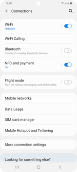 Samsung Galaxy S20 Plus 5G - WiFi - Enable WiFi Calling - Step 6