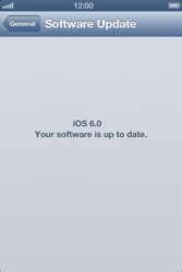 Apple iPhone 4S - Software - Installing software updates - Step 8