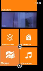 Nokia Lumia 800 / Lumia 900 - Operazioni iniziali - Personalizzazione della schermata iniziale - Fase 7
