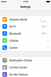 Apple iPhone 4S iOS 7 - Bluetooth - Connecting devices - Step 5