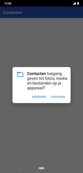 Nokia 8-1 - Contactgegevens overzetten - delen via Bluetooth - Stap 8