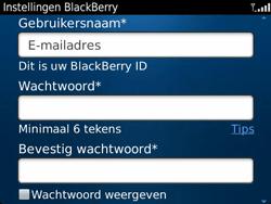 BlackBerry 9360 Curve - BlackBerry activeren - BlackBerry ID activeren - Stap 9