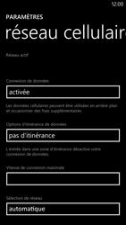 Nokia Lumia 1320 - Internet - Configuration manuelle - Étape 5