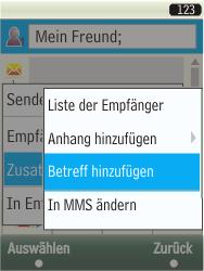 Samsung TouchWiz - MMS - Erstellen und senden - 14 / 25
